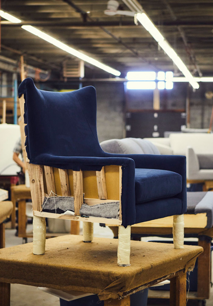 Romano Romano Manufactures Contemporary Upholstered